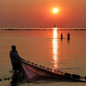 Rievocazione pesca tradizionale alla tratta